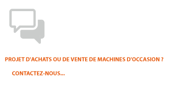 machines occasion projet achat vente